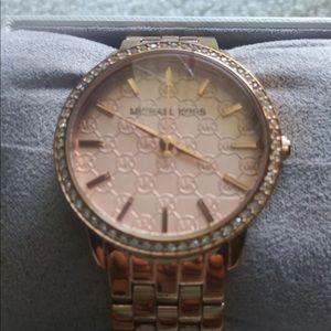 Michael Kors Accessories - Michael Kors rose gold watch Darci MK3192